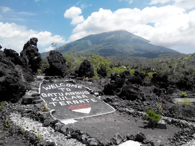 Batu Angus - Wisata Andalan Kota Ternate