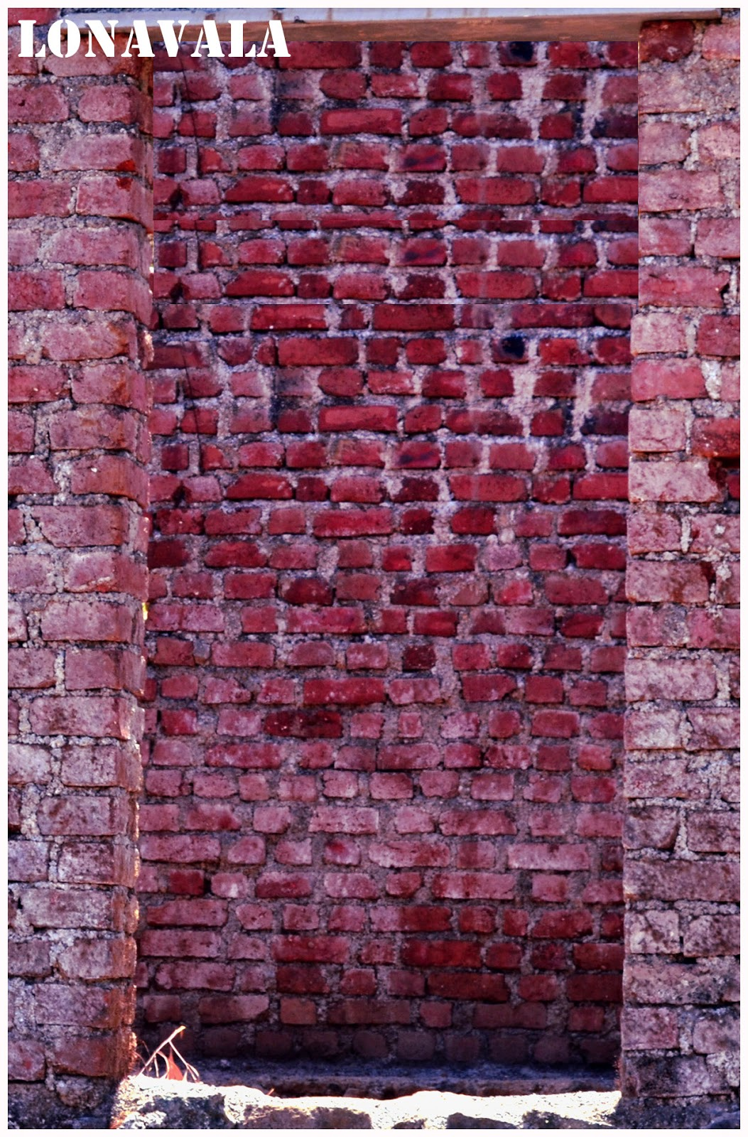 brick wall near rajmachi