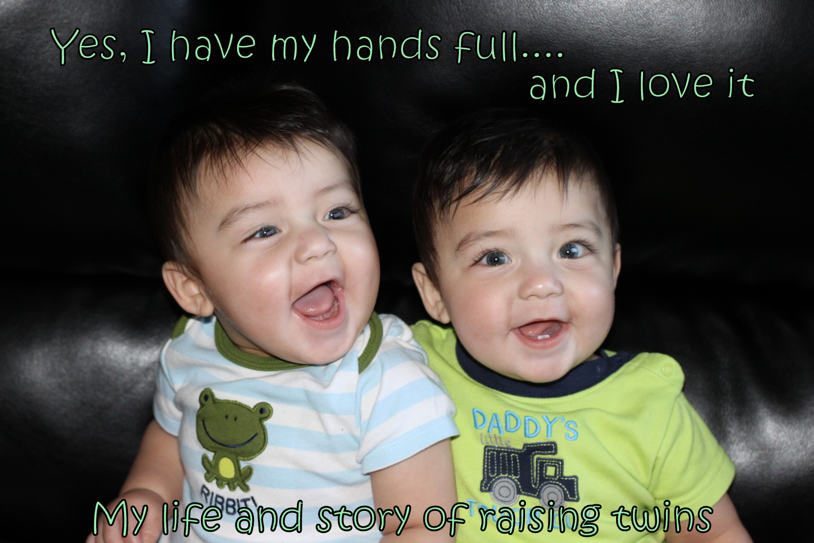Yes, I have my hands full....