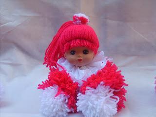 65bc508167bcf Cantinho da Arte  Passo a passo boneca de lã