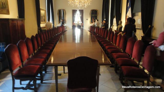 Salão O'Higgins - Palácio de La Moneda