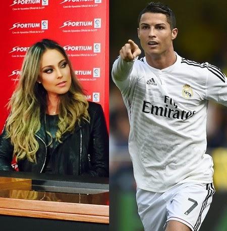 Relacionan a Vanessa Huppenkothen con Cristiano Ronaldo