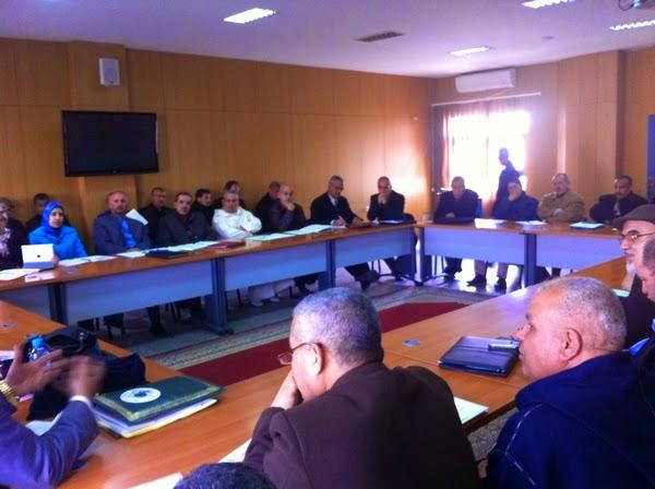 يوم دراسي لتدارس مسألة التعليم الأصيل  بمقر الأكاديمية الجهوية للتربية و التكوين جهة فاس بولمان