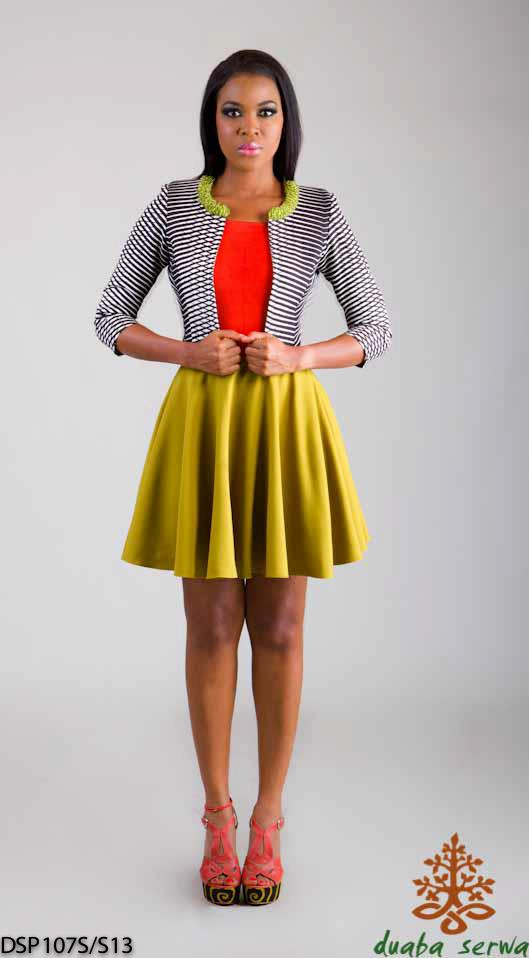 lookbook: Duaba Serwa Spring/summer 2012 modeles de robes en pagne africain