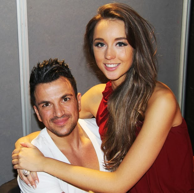 HollyNolly: Peter Andre Says Girlfriend Emily MacDonagh