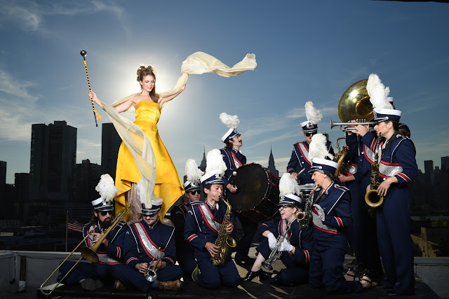 Outdoor shot taken using Nikon D5 featuring Wind Orchestra and fashion