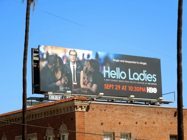 Hello Ladies season 1 HBO billboard