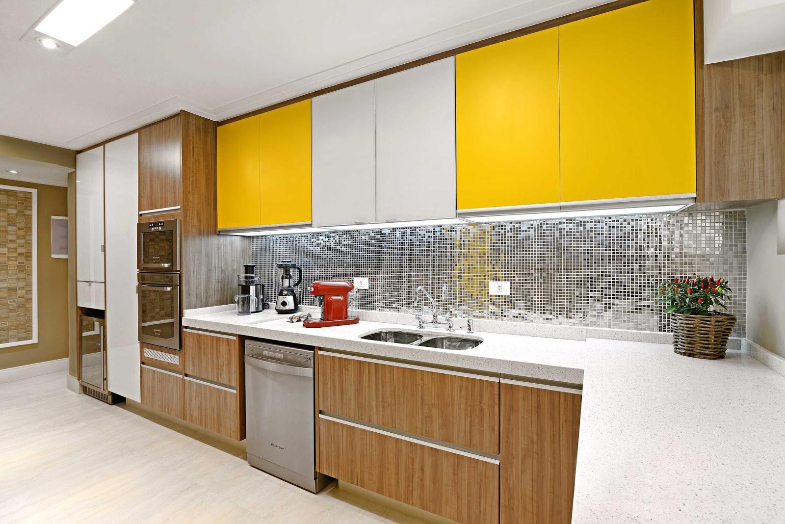 #C89B03 Clean: Dúvida de Decoração: Cozinha Lavanderia e Sala de Estar 1600x1068 píxeis em Decoração De Sala De Estar Branco E Preto