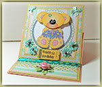 Easel card and box tutorial by Wendy
