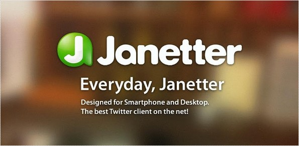 Janetter Android app