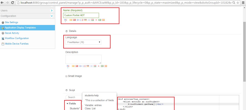 Liferay ADT Implementation for Custom Portlet ~ Liferay Savvy