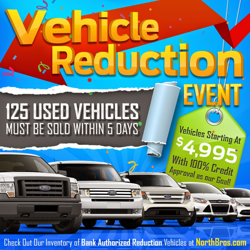 Vehicle Reduction Event at North Brothers Ford!