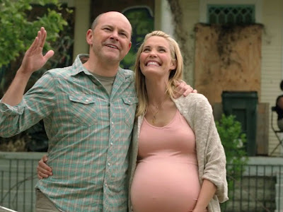 Leslie Bibb and Rob Corddry