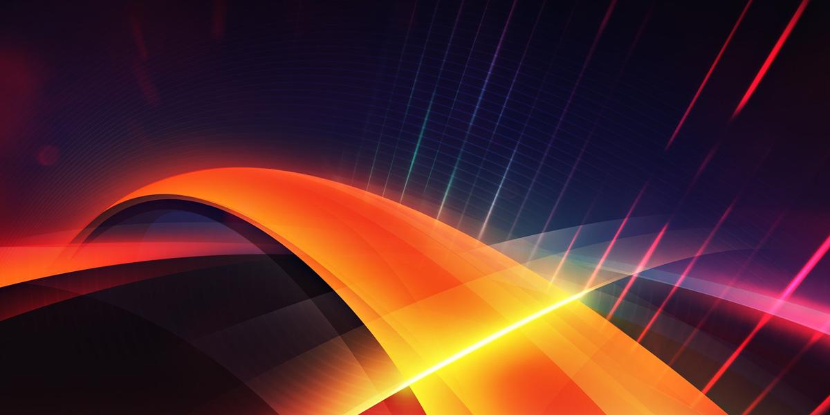 Abstract Orange l 300+ Muhteşem HD Twitter Kapak Fotoğrafları