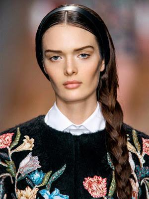 Peinados 2014 con accesorios vinchas