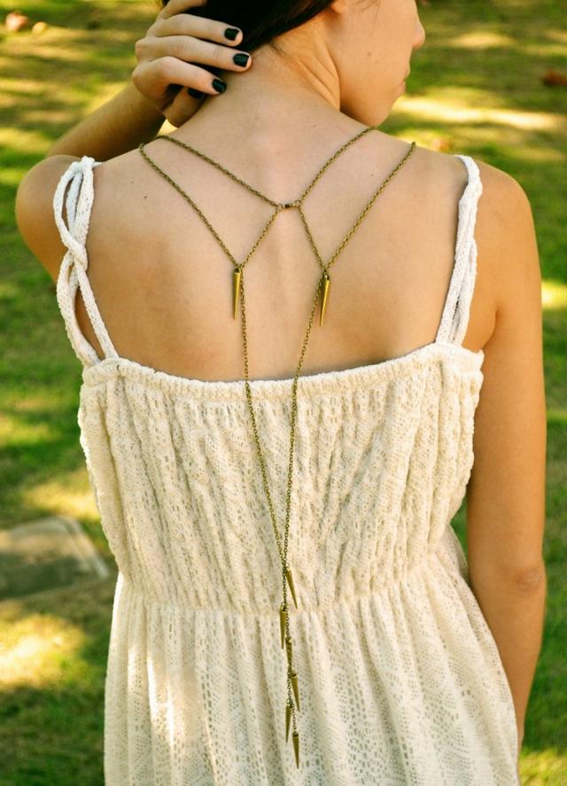Decoraciones para la espalda | Elegancia y Glamour