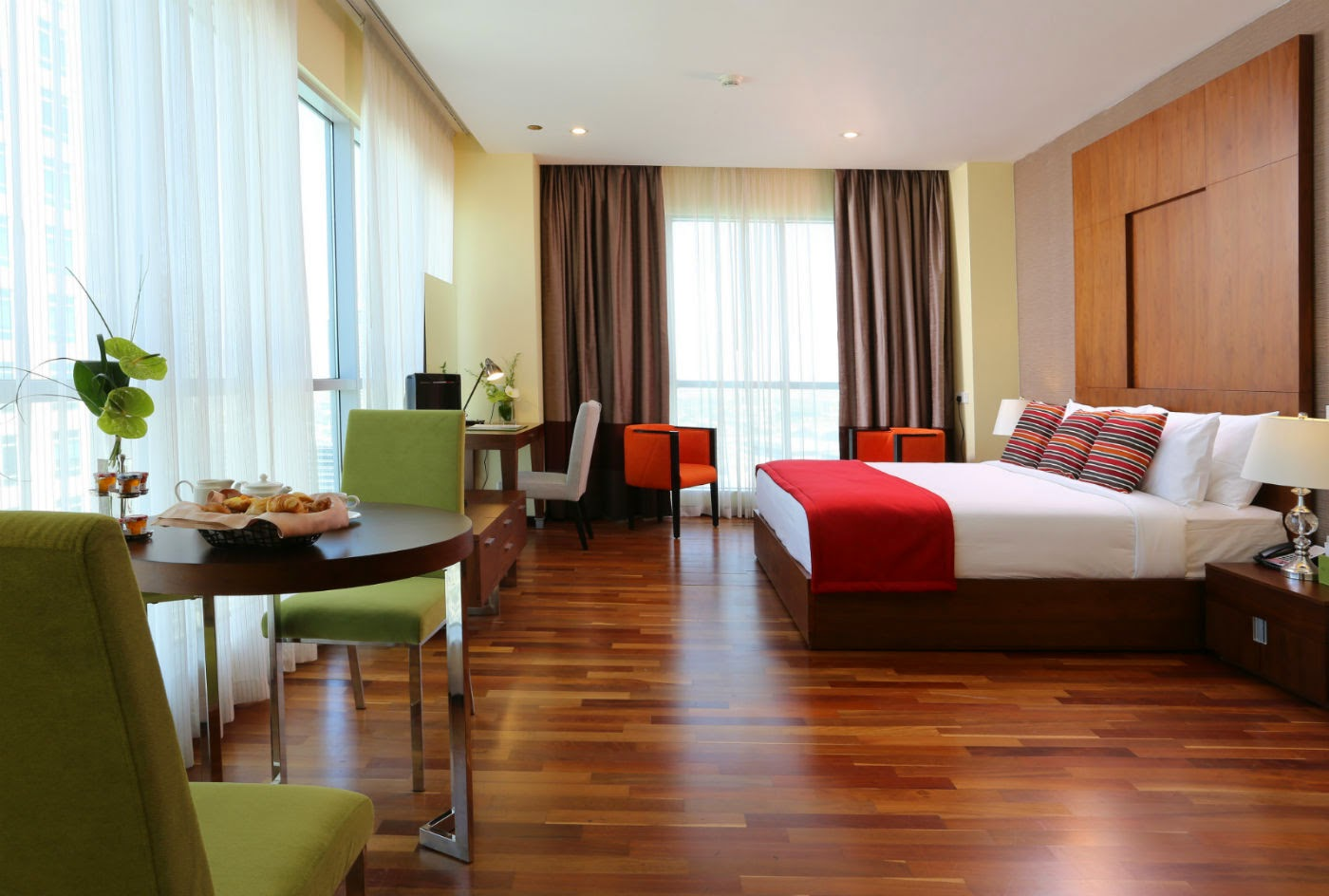 The Ramada Downtown Dubai is located in the emirate's ultra-popular and trendy downtown district