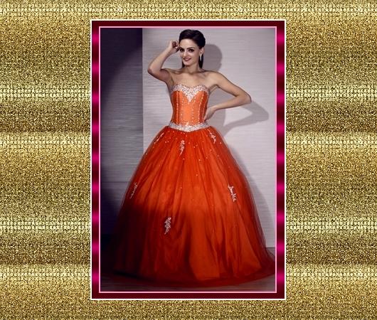 Accesorios para un vestido de fiesta color coral