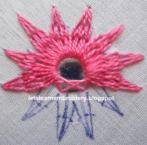 Let39s Learn Embroidery Mirror Work 2