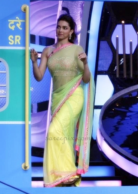Deepika-padukone-saree-DID-super-mom-Zee-tv-reality-show