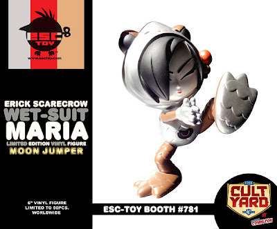 ESC Toy New York Comic-Con 2011 Exclusive Wet-Suit Maria Jumper Vinyl Figure by Erick Scarecrow