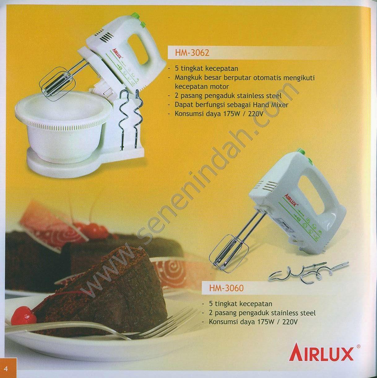Airlux Senen Indah Pusat Peralatan Rumah Tangga Hotel Restoran Hand Mixer Hm 3060 Price List Ada Di Paling Bawah Tekan Ctrl F Lalu Ketik Kode Nama Produk