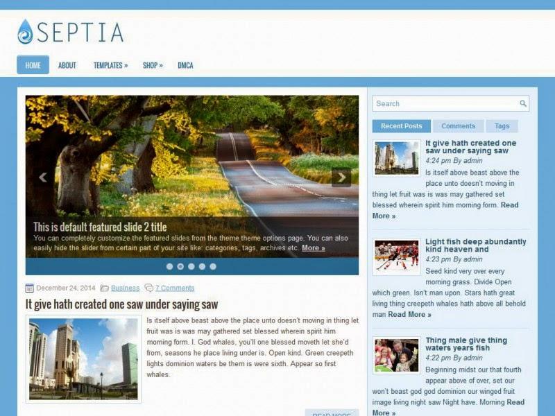 Septia - Free Wordpress Theme