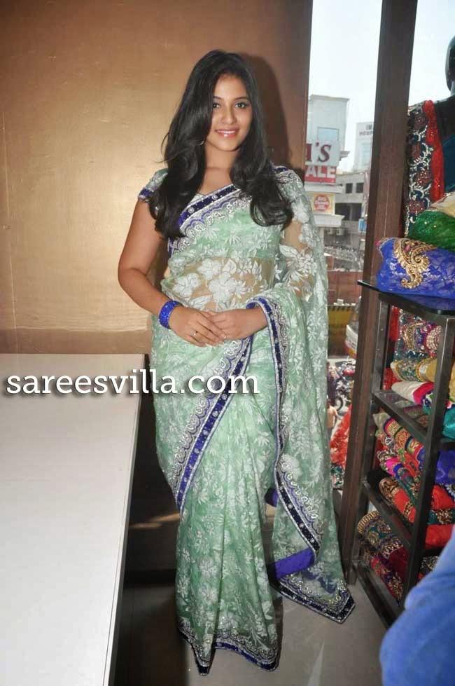 Anjali In Saree