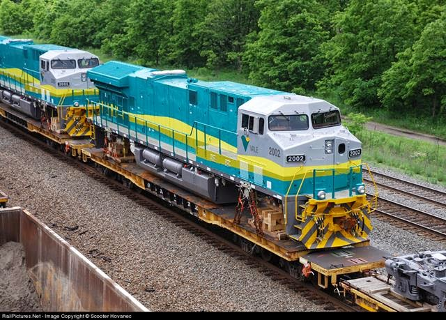 Trem de Carga da Vale
