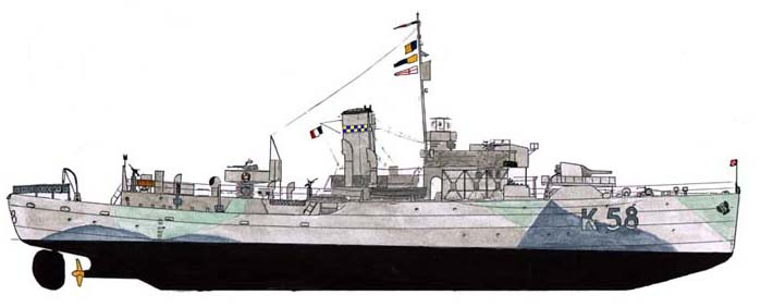 Naval Warfare Hms Harvester H19