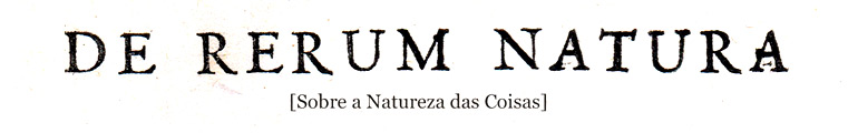 De Rerum Natura