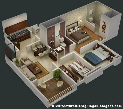 Interior design ideas for 3bhk flat plan joy studio for 1 bhk flat decoration idea