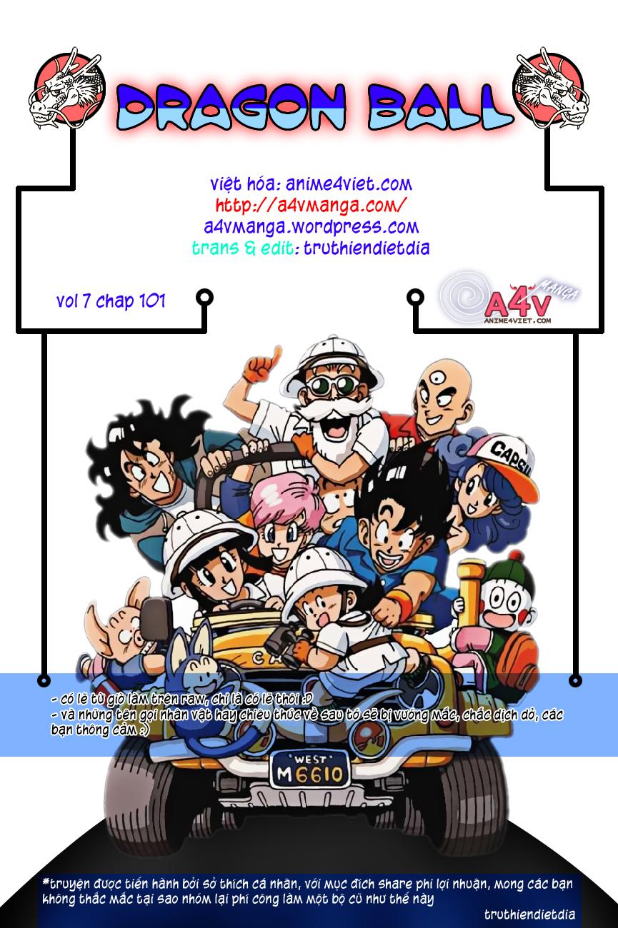 caroteka.com -Dragon Ball Bản Vip - Bản Đẹp Nguyên Gốc Chap 101