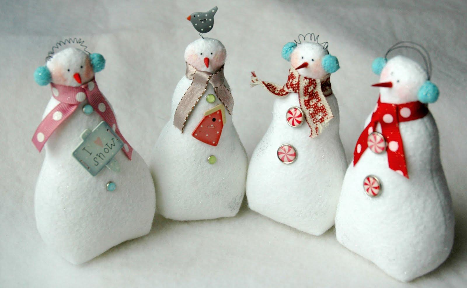 Снежки сшить своими руками