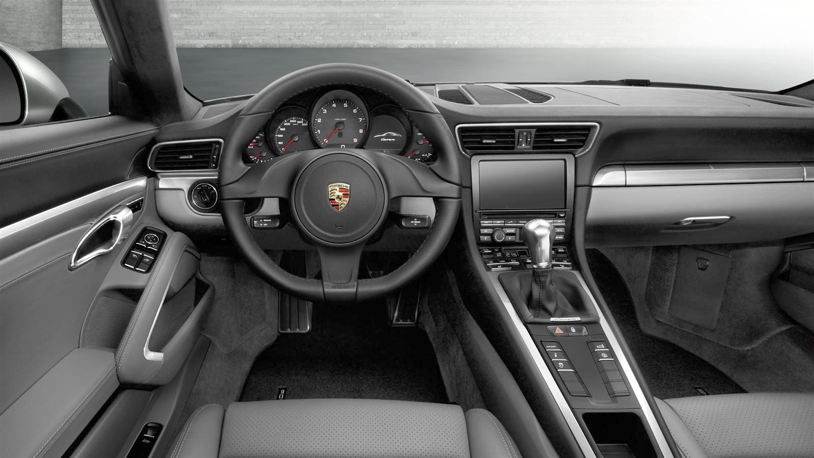 Porsche 911 Carrera Cabriolet Interior2