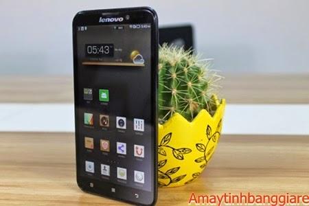 Lenovo S939 có thiết kế mỏng đẹp đầy tinh tế