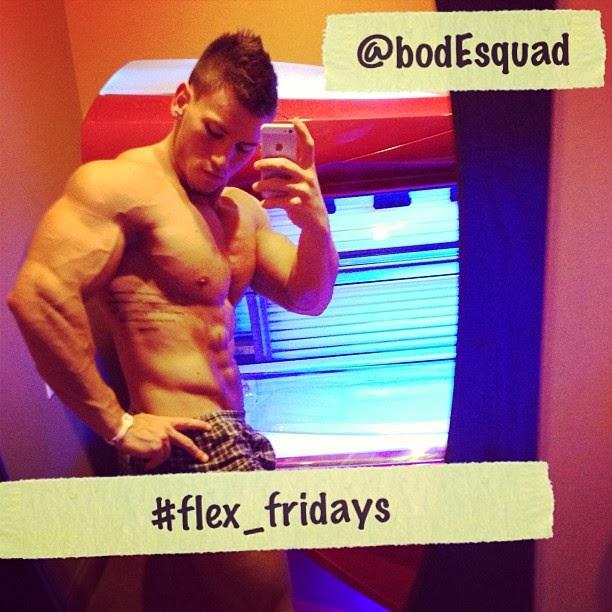 Shawn Dawson, modello tutto muscoli