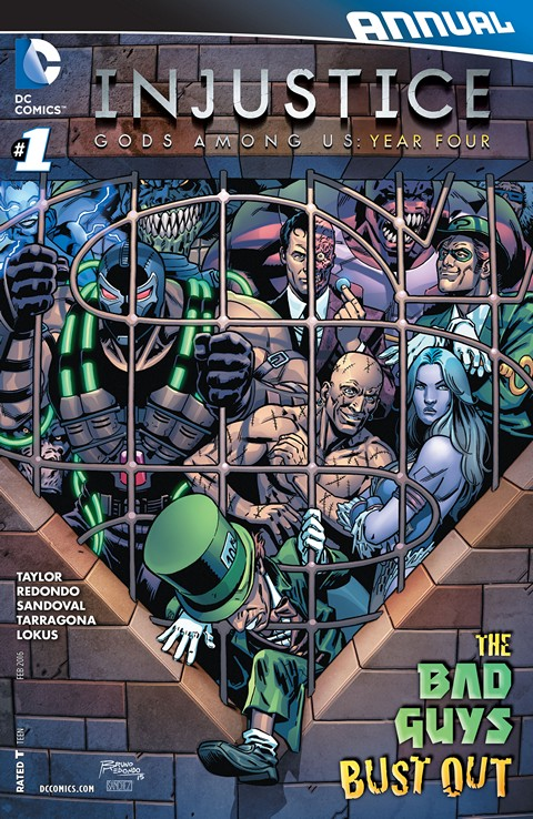 INJUSTICE YEAR FOUR ANNUAL#1
