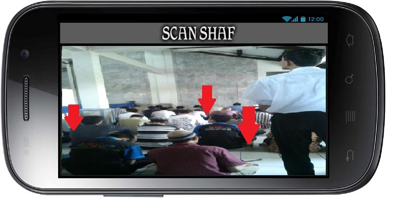Aplikasi Shaf Finder: Halaman Lihat Scan Shaf