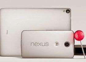 Google confirmou oficialmente nesta quarta-feira, 15, o Nexus 6 e o Nexus 9, novos smartphone e tablet da companhia, respectivamente.