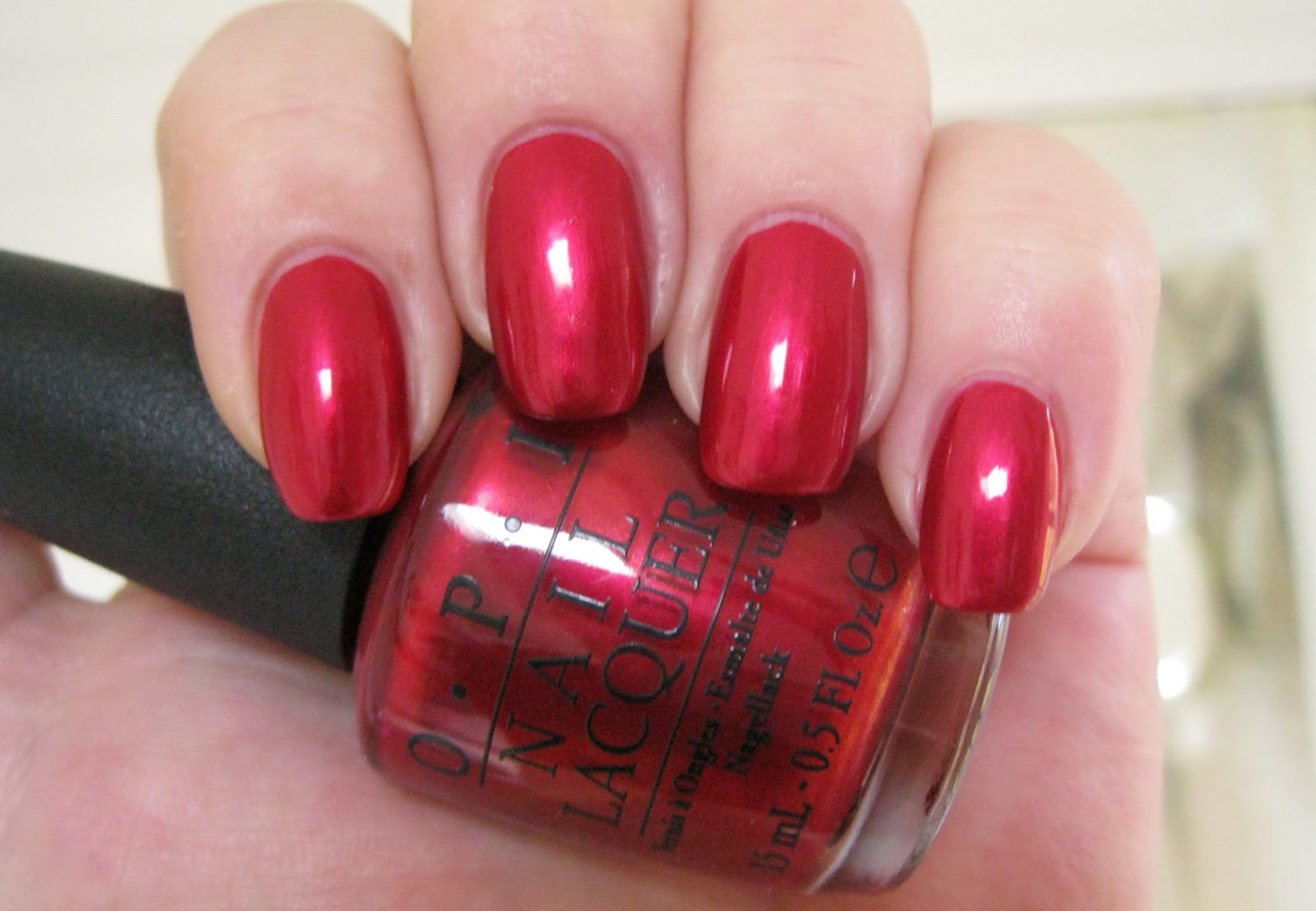 Lacquer Slacker Liz: OPI An Affair in Red Square