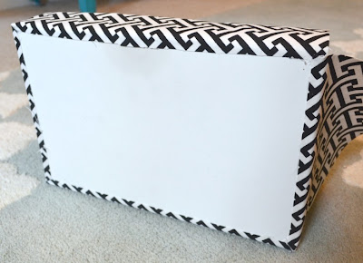 Make a Decorative Tray from a Recycled Cardboard Box