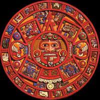 calendario maya rojo