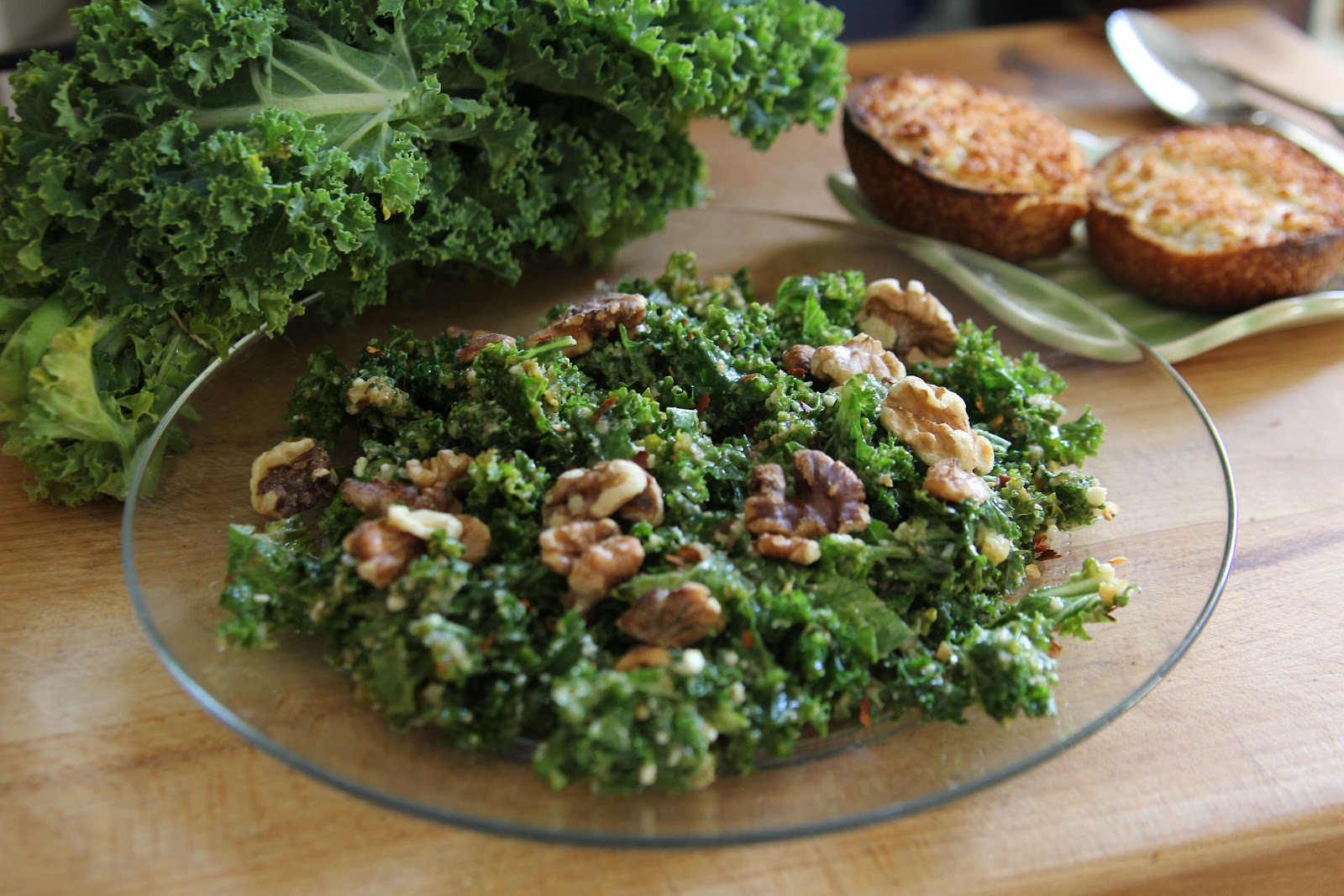 kale caesar salad asian raw kale salad weekend glow kale salad kale ...