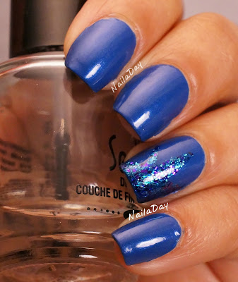 NailaDay: L'Oreal Notting Hill Blues with Sinful Colors Super Star
