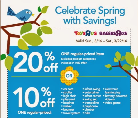 Toys R Us Coupon Printable
