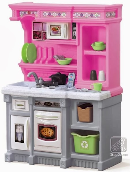 Daily cheapskate step2 lifestyle welcome home kitchen set for Kitchen set step 2