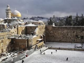 Foto Foto Salju di Mesir dan Timur Tengah