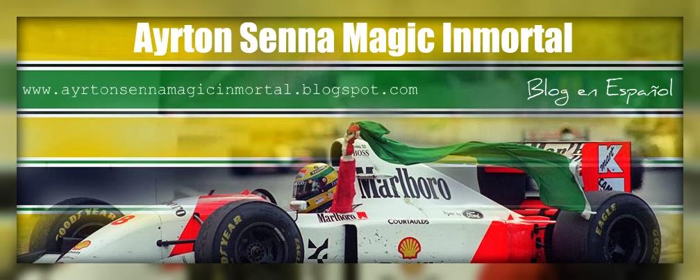 Ayrton Senna Magic Inmortal