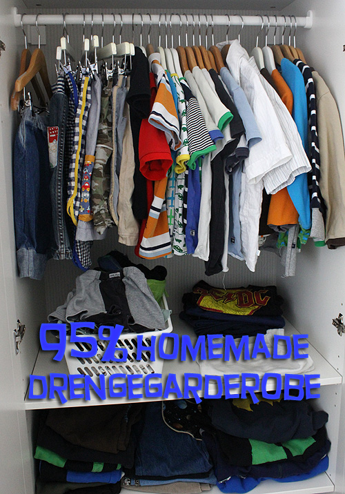 95% Homemade drengegarderobe